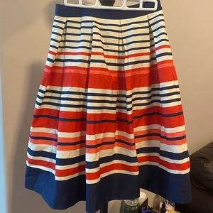 Navy/Orange Skirt